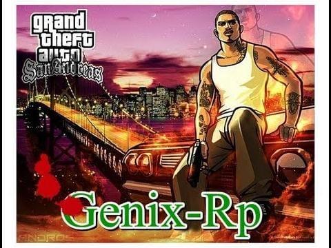 Готовый сервер Genix Role Play Version 9.0 [0.3z]